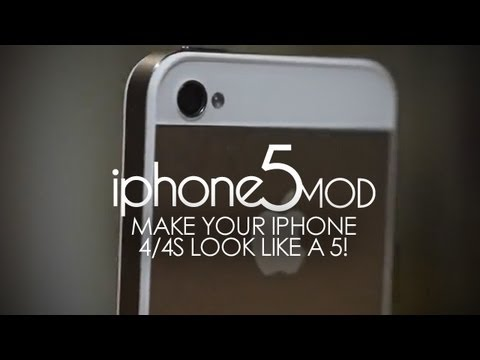 what does an iphone 4 look like iphone5mod make your iphone 4 4s to look like the iphone 20534