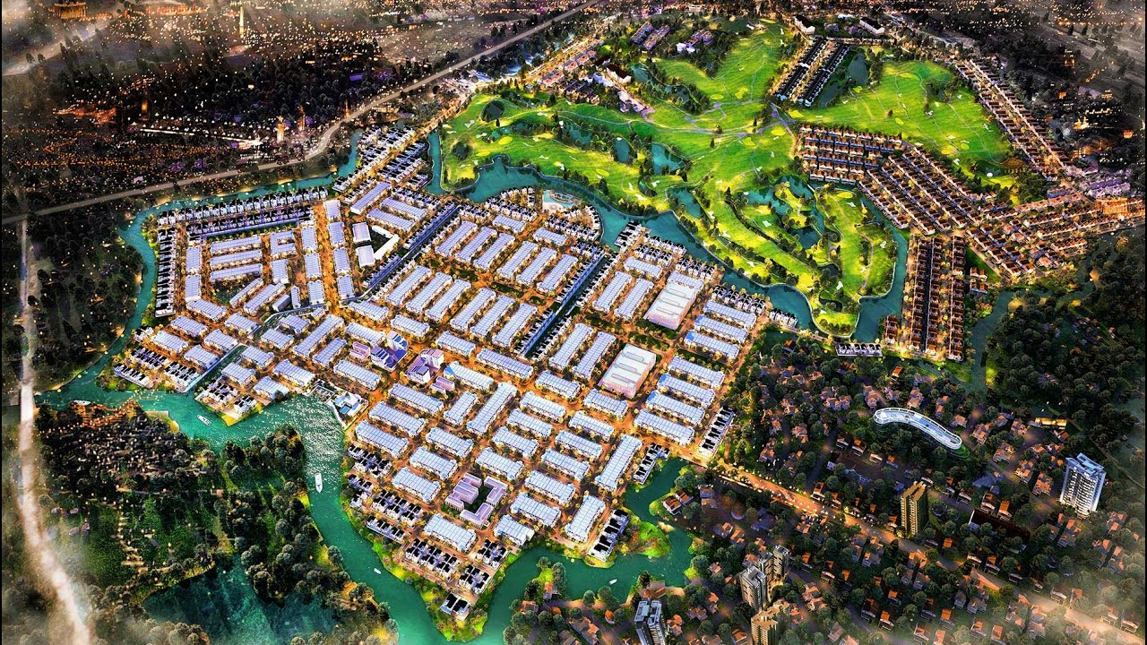 Đất nền sổ đỏ trên đồi sân golf Long Thành, 19tr/m2 Biên Hòa New City video