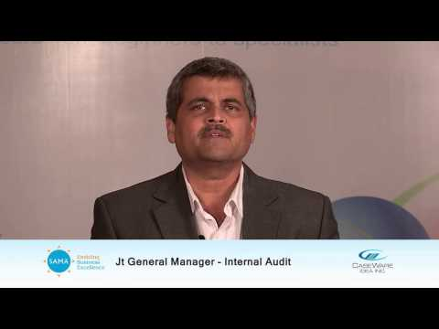 Satish Shenoy, Dy.GM Internal Audit , Larsen & Toubro Ltd.
