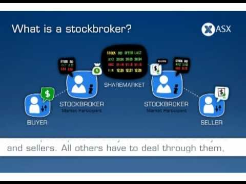 What is a stockbroker? ASX Tutorial (Old version)