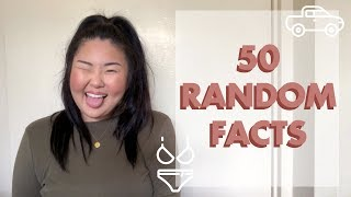 50 Random Facts About Me| Michelle Choi