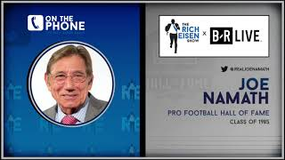 Joe Namath Talks Jets, Bart Starr, Draft Process & More with Rich Eisen | Full Interview | 6/21/19