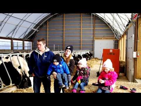 Testimonial: Drost Family Dairy Farm 50' x 100' Atlas Building Series Heifer Barn