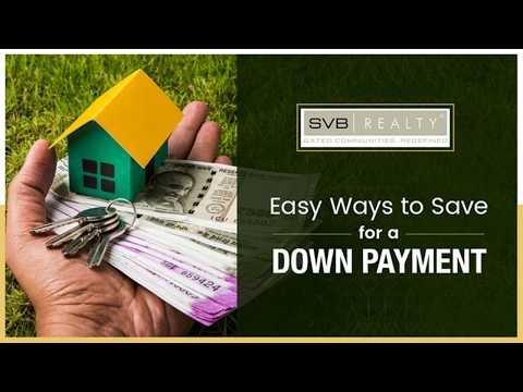 5 Tips to Save Money for Down Payments