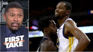Kevin Durant needs to stop beefing with Patrick Beverley - Jalen Rose | First Take