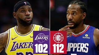Lakers-Clippers highlights: Kawhi drops 30 in LA debut | 2019-20 NBA Highlights