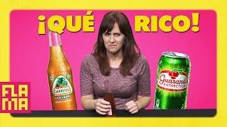 Americans Try Latino Sodas