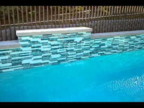 Swimming Pool Glass Tile 3gp Youtube