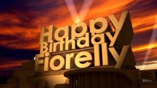 Happy Birthday Fiorella