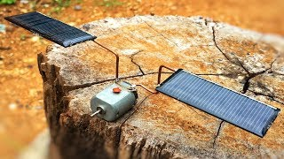 Free Energy 100% , How Make Solar Using DC Motors Generator With Light Bulb
