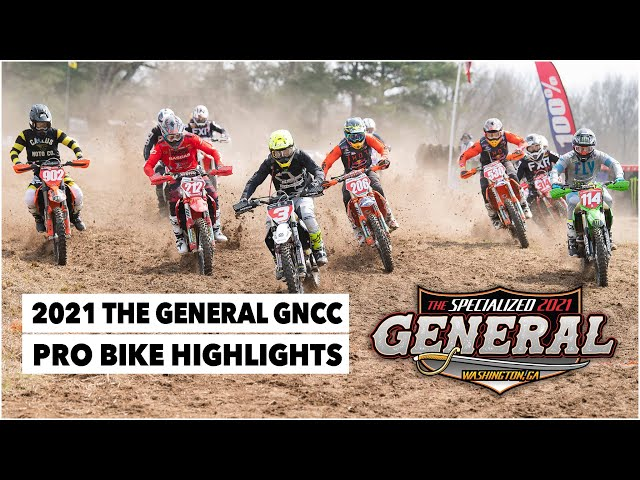 Résumé GNCC USA 2021 - RD3 : The General
