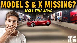 Tesla Time News - Tesla Model S & X Disappear?