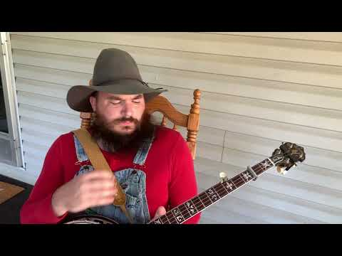 Daniel Shilling from Joplin, MO, proves that bluegrass isn't just for hillbillies, with his skills as a sophisticated banjo player.