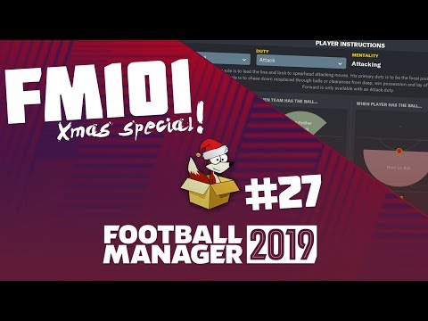 Football Manager 2019 - FM101, Squad & Player 'Mentality' / Tips, tricks & guides!