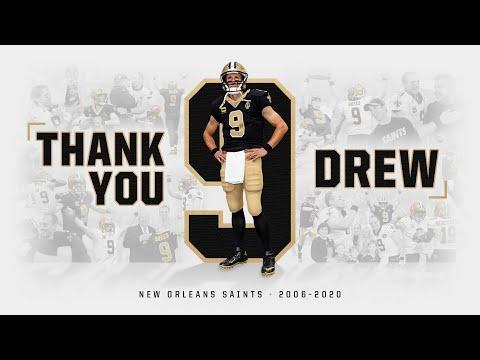 Thank You, No. 9 | Drew Brees NFL retirement