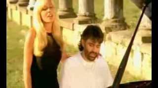 Andrea Bocelli y Marta Sanchez   Vivo Por Ella (vídeo original)