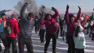 «Лыжня России» прошла в селе Калиновка Спасского района