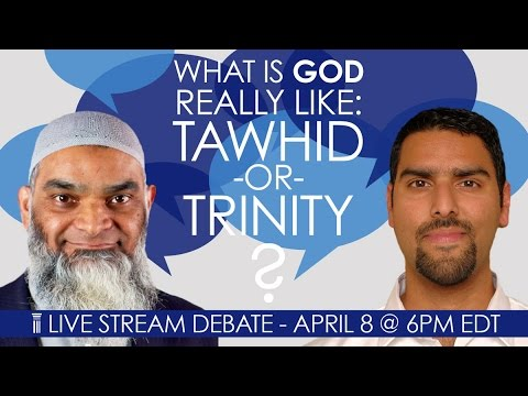 What is God Really Like: Tawhid or Trinity? Dr. Shabir Ally and Dr. Nabeel Qureshi Debate
