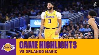 HIGHLIGHTS | Anthony Davis (16 pts, 12 reb, 6 ast) vs. Orlando Magic
