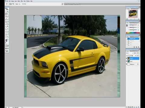 Photoshop Car Tuning Modding Tutorial: Skoda Octavia (Dosh - Naoise , Cannibal Ox - A B-boys Alpha )