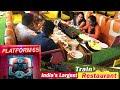 India's Largest Train Track Restaurant @ Kukatpally Hyderabad   Platform 65   Amazing Food Zone