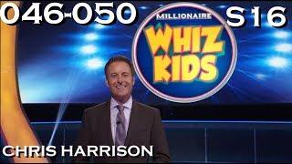 """""""Millionaire"""" Season 16   Week 10/35   WHIZ KIDS WEEK Ep. 46-50 (Nov.13-Nov.17)"""