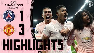 Highlights | Solskjaer's young stars stun PSG! | PSG 1-3 Manchester United | UEFA Champions League