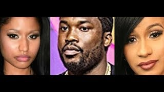 Cardi B X Meek Mill DROPPING SOON allegedly Dissing Nicki Minaj, Cardi B DENIES THIS