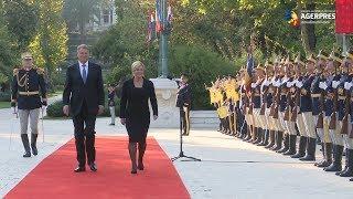 Președintele Croației, Kolinda Grabar-Kitarovic, primit la Palatul Cotroceni