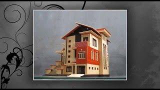 Làm nhà tăm tre - Bamboo sticks House - Biệt Thự Xinh_DinhQuan.info