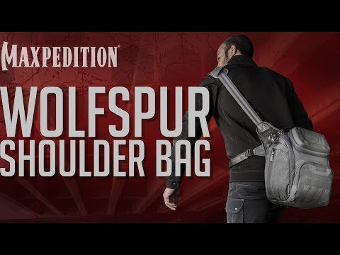 MAXPEDITION Advanced Gear Research WOLFSPUR Crossbody Shoulder Bag