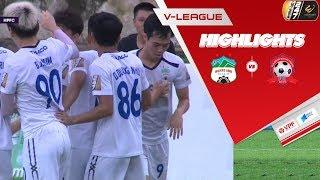 Highlights   HAGL - Hải Phòng FC   3 điểm quý giá trong cuộc chiến trụ hạng   VPF Media