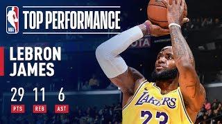 LeBron James SHINES Against Houston | February 21, 2019