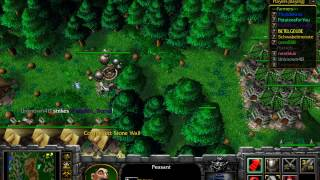 Warcraft 3: Farmer vs Hunter!