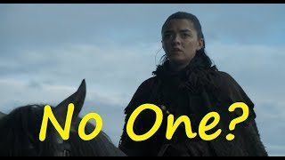 Is Arya No One? (Game of Thrones, A Song of Ice and Fire)