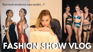 I modeled in a FASHION SHOW | Harvard Identities Fashion Show 2019