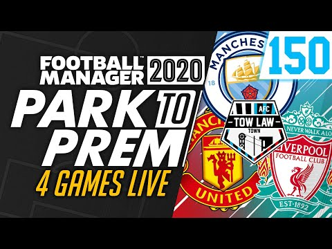 Park To Prem FM20 | Tow Law Town #150 - HOUR LONG SPECIAL! | Football Manager 2020