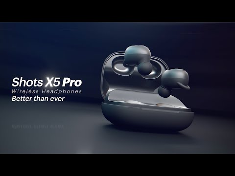 video Noise Shots X5 PRO Bluetooth Truly Wireless Earbuds, 150 Hrs Playback with Qualcomm AptX