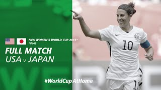 #WorldCupAtHome | USA v Japan (Canada 2015)