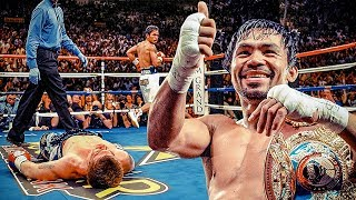 Manny Pacquiao Highlights (FIRE & RAPID Moments) 2018