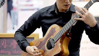[Live] 정선호(Jung Sunho) - James Bond & Mission Impossible Theme (Cover) / 핑거스타일(Fingerstyle) @코엑스몰