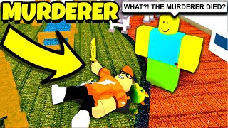 TRICKING EVERYONE in Roblox MURDER MYSTERY!!