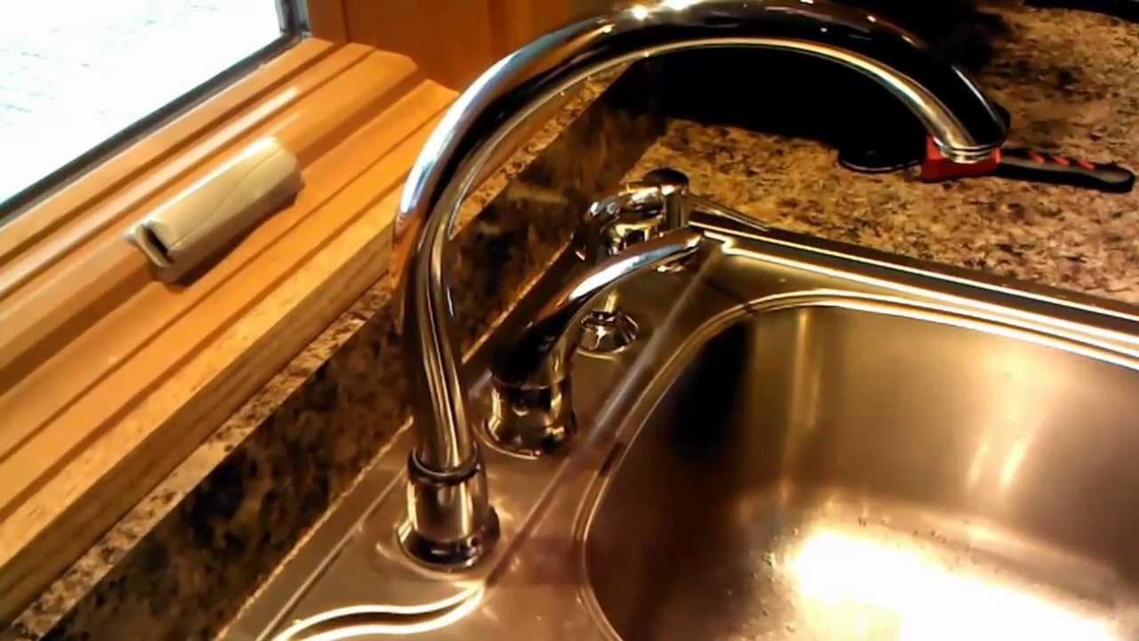 Delta Kitchen Faucet Leaking Around Base