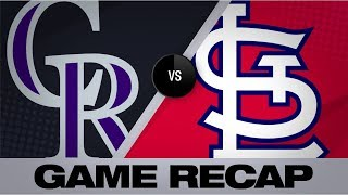 Ozuna, Flaherty lead Cardinals to 8-3 win   Rockies-Cardinals Game Highlights 8/23/19