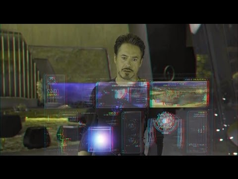 The Avengers (2012)(3D)(Side By Side) - Stark Goes Green [Clip 2]