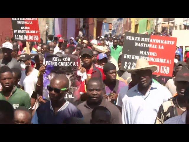 38億石油資金遭濫用 海地數千人抗議促總統下台