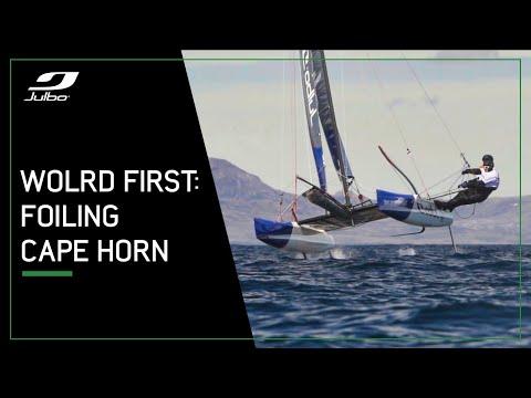 #JulboSailSession : Foiling Cape Horn
