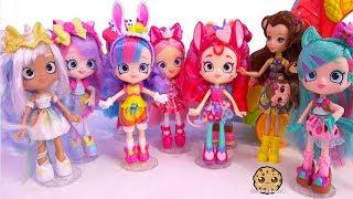 Limited Edition Mystabella Unicorn  + Wild Style Animal Shopkins Shoppies Party !  Video
