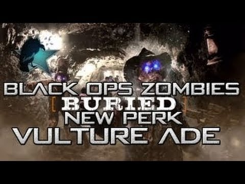 "Black Ops 2 Zombies Buried ""Vulture Aid"" Perk - BO2 PhD Flopper Perk - Vengeance Map Pack DLC - Smashpipe Games"