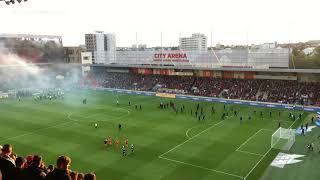 #HOOLIGANS RIOT FIGHT 💪🔥⚔️ #DERBY (2021) Ultras Spartak Trnava 🆚  Ultras Slovan Bratislava (4K)